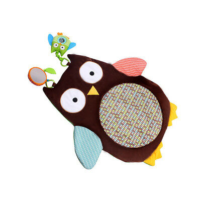 Kids Toddler Owl Blanket Baby Crawl Mat Thick Blanket Game Pad Floor Carpet