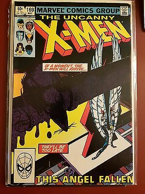 The Uncanny X-Men #169 (1983) Marvel 1St Appearance Of Calisto & The Morlocks!