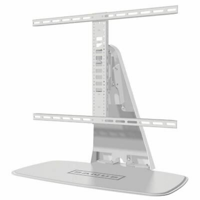 "Sanus White Pedestal Bracket Stand LCD/LED TV 32 -60"" Inch Swivel Height Adjust"