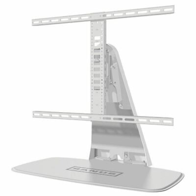 Sanus WSTV1 Universal Swivel TV Stand for 32″-60″ Screens & SONOS Playbase White