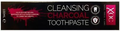Cleansing Charcoal Toothpaste Activated Charcoal Fluoride Whitening 125ml BF