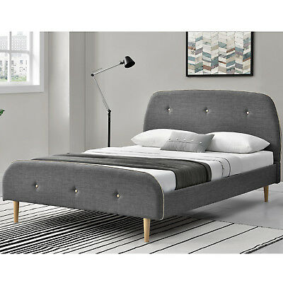 140x200cm schlafzimmerbett metallbett bettgestell bett wei lattenrost b ware eur 52 99. Black Bedroom Furniture Sets. Home Design Ideas