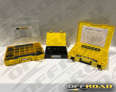 LOT of 3 New Aftermarket Seal Kits 4C4782, 4C4784, 4C8253 for Caterpillar®