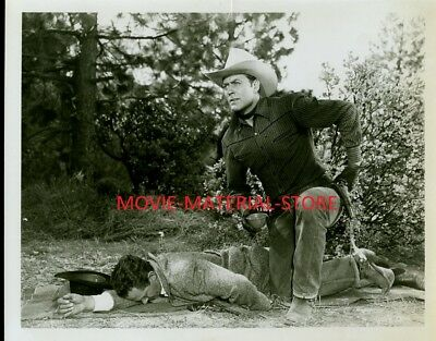 """Allan Rocky Lane Captive of Billy the Kid 8x10"""" Photo From Orig Neg #M6826"""
