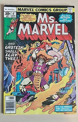 Ms Marvel #6 FN+ Bronze Age Comic Uncurculated