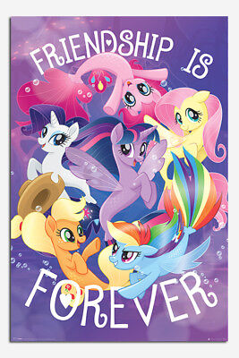My Little Pony Movie Friendship Is Forever Poster New - Maxi Size 36 x 24 Inch