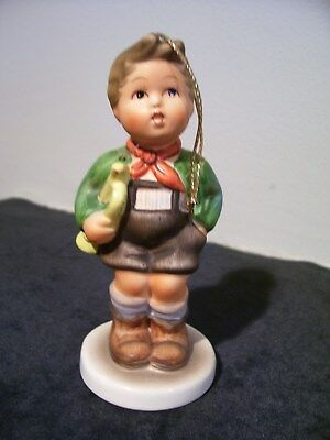 Berta Hummel 1983 First Edition Schmid Reproduction Trumpet Boy Tree Ornament