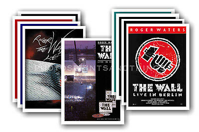 ROGER WATERS - PINK FLOYD- 10 promotional posters - collectable postcard set # 1
