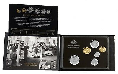 2010 Australia Six Coin Proof Set
