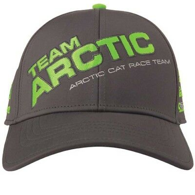 Arctic Cat Team Arctic Race Sponsor Cap - Gray & Green - 5279-563