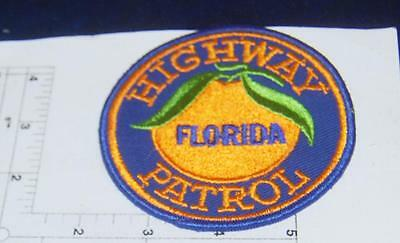 Earliest issue Florida Highway Patrol Patch cheese cloth backing free ship