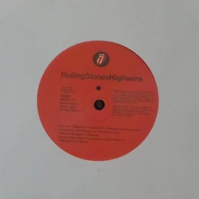"""The Rolling Stones 'highwire' Uk 7"""" Single"""