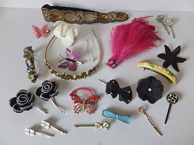 Large Assortment of Hair Accessories