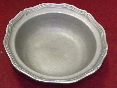 """Wilton Armetale Vintage Country French Large Salad Serving Bowl 11"""""""
