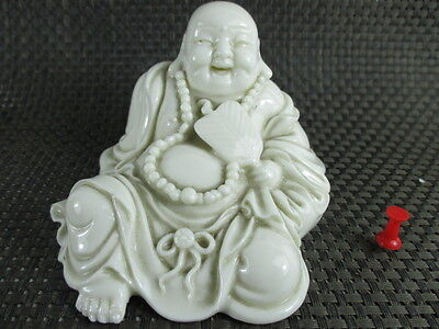 Happy Buddha original BLANC DE CHINE ~1940  ! NO COPY ! Porzellan Porcelaine