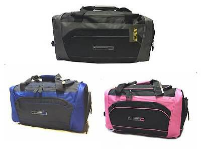Mens Ladies Large Sports Gym Bag Duffle Holdall Travel Case Weekend Work Bag