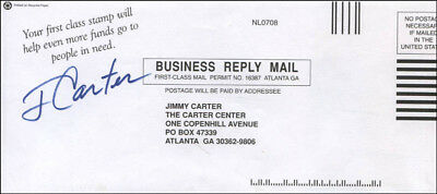 "James E. ""Jimmy"" Carter - Envelope Signed"