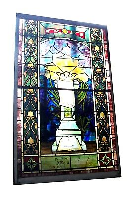 Regal Crown Stained Glass Window