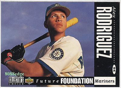 1994 Ud Collector's Choice #647 - Alex Rodriguez - Rookie Mariners/yankees Mvp