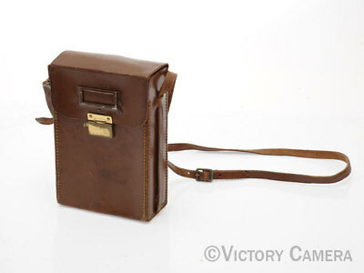 Rare Leather 4x5 Film Holder Case with Holders (97-12)