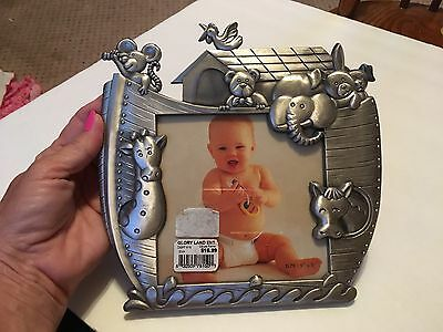 Noahs Ark Baby Photo Frame