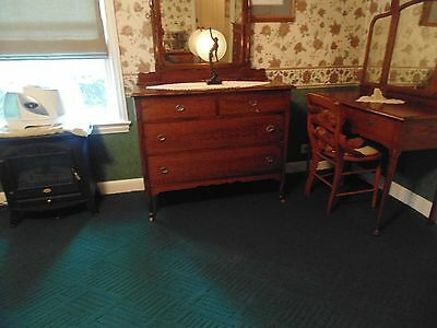 Antique 1900's Bed Room Set