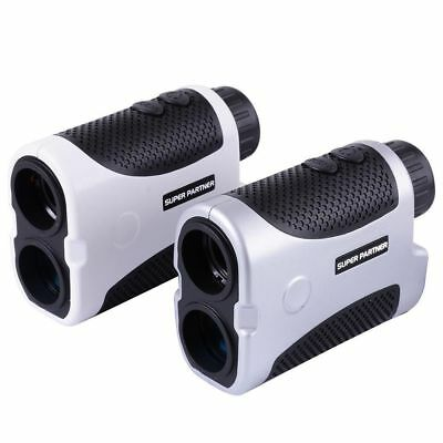 Golf Laser Range Finder LCD 6x Slope Compensation Angle Scan Pinseeking Club