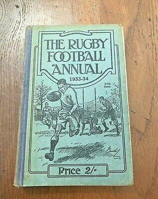 the rugby football annual 1933 -  34