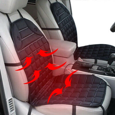 Universal Car Van Heated Seat Cushion Cover 12V Heating Heater Warmer Pad Winter