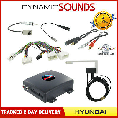 AutoDAB CTDAB-HY4 Digital DAB Car Radio Interface For Hyundai i40, ix35