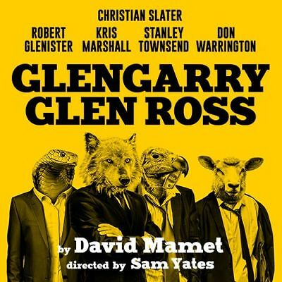 GLENGARRY GLEN ROSS Ticket and Meal Package - Show and 2 Course Meal for £85pp