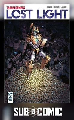 TRANSFORMERS LOST LIGHT #4 (IDW 2017 1st Print) COMIC