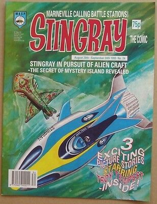 Stingray the Comic Issue 24 from August 1993