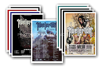 KVELERTAK - 10 promotional posters  collectable postcard set # 1