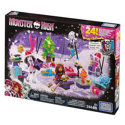 Mega Bloks Monster High Advent Calendar Play Set