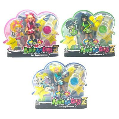 Power Puff Girls Z Fashion Dolls With Accessories - Spanish