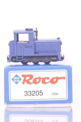"ROCO 33205 HOe 009 - INDUSTRIAL WORKS NARROW GAUGE SHUNTING LOCOMOTIVE ""GEORG"""