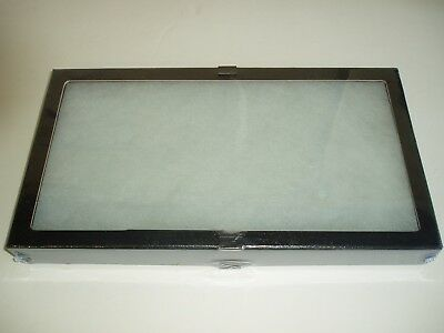 "5  Pieces  8 x 14-1/2"" x 1-3/4:"" Display Case (""Riker"" type) with Polyester Foam"