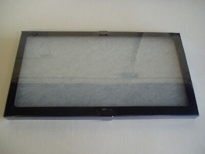 "1  Piece  8 x 14-1/2"" x  7/8:"" Display Case (""Riker"" type) with Polyester Foam"