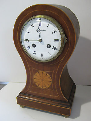 Big ANTIQUE MAPPIN AND WEBB MANTEL CLOCK FRENCH MOVEMENT japy freres NO PENDULUM