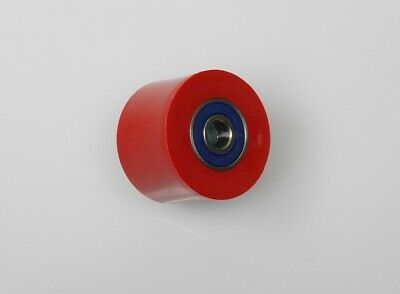 KSX Kettenrolle 38 mm rot NEU Chain Roller red NEW