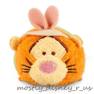 "New Disney Store Tsum Winnie the Pooh Easter Tigger Mini Plush 3.5"" Toy Doll"