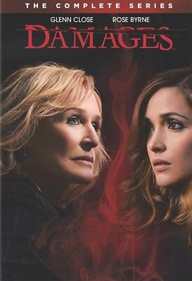 DAMAGES COMPLETE SERIES New DVD Seasons 1-5 Season 1 2 3 4 5 Glenn Close