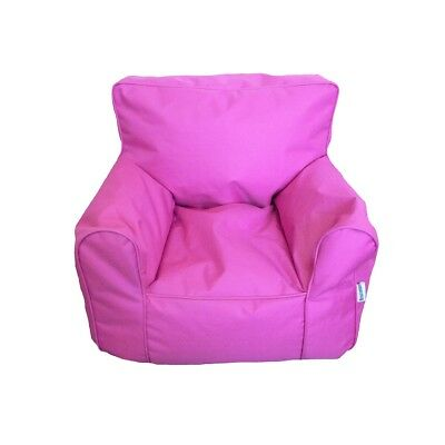 Boscoman - Cozy Youth Lounger Chair Bean Bag - Pink