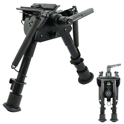 "6"" to 9"" Harris Style Rifle Gun Bipod Swivel Model with Built In Pivot Lock Part"