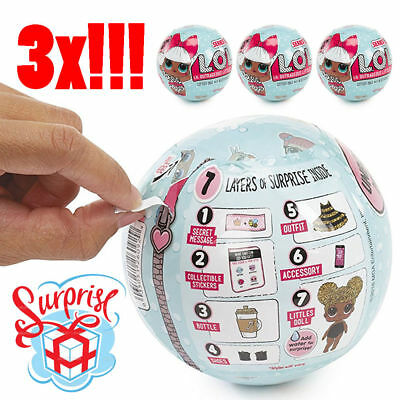 3X LOL Überraschung Puppe Magie Lets Be Friends Series 1Balls. Kinder Spielzeug