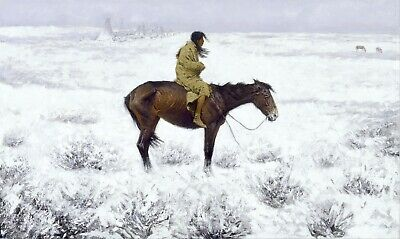 The Herd Boy by Frederic Remington Giclee Repro Canvas