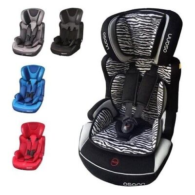 Osann Lupo Isofix Children Car Seat Car Seat Group 1/2/3 CHOICE OF COLOURS