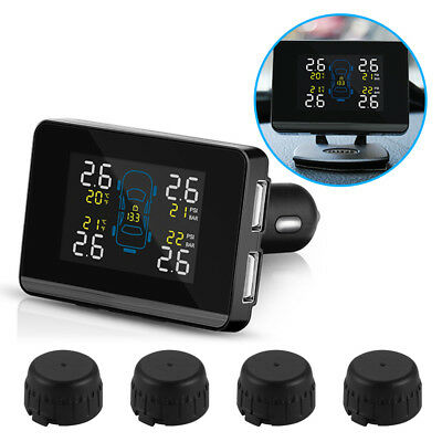 TPMS Car Wireless Tire Pressure Monitoring System + 4 External Sensors MA1322