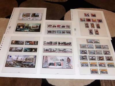 Isle Of Man-2005-Complete Years Commems Sets+4 Sheets-Very Fine Used